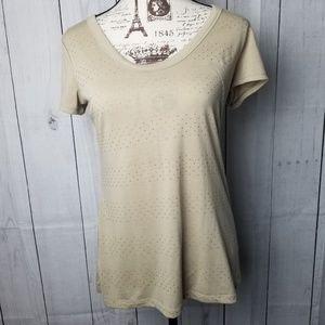 Banana Republic Gold Dot T-Shirt
